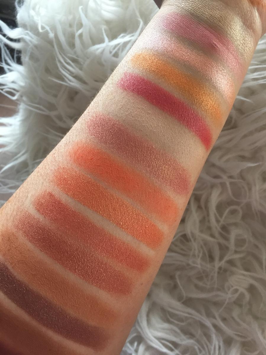 peachy palette goals! #review