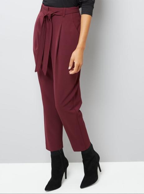 burgundy-tie-waist-trousers